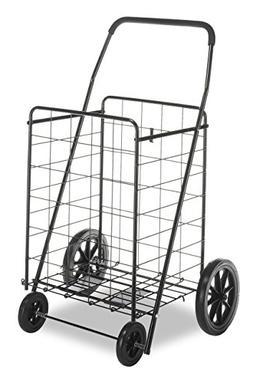 Whitmor Deluxe Utility Cart, Black