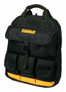 NEW DG5503 DEWALT Backpack Tool Bag 25 inside pockets 4 outs