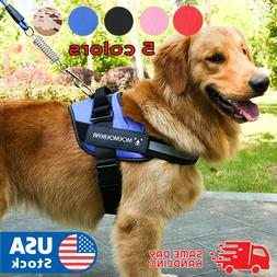Harness No Pull Tactical Heavy Duty K9 large Vest Dog Collar