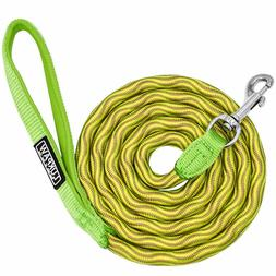 LukPaw Dog Leash Heavy Duty Rope 6 Feet Nylon Leash with Pad