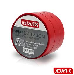 XFasten Extreme Double-Sided Acrylic Mounting Tape Removable