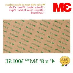 3M Double Sided-SUPER STICKY HEAVY DUTY SHEET OF ADHESIVE TA