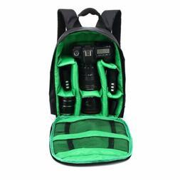 DSLR Camera Video Waterproof Backpack Shoulder Bag Case For