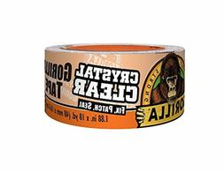Gorilla Duct Tape Crystal Heavy Duty Clear Adhesive Waterpro