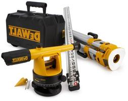 DEWALT DW090PK 20X Builder's Level Package with Tripod and R
