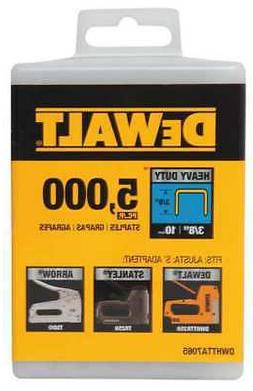 "DEWALT DWHTTA7065 25/64"" x 3/8"" Heavy Duty Crown Staples, 50"