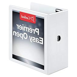 EasyOpen Clearvue Slant-D Ring Presentation Binder