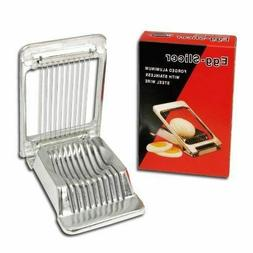 Egg Slicer Heavy Duty Commercial Grade Forged Aluminum Stain