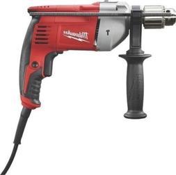 "New Milwaukee 5376-20 Electric Keyed 1/2"" 8 Amp Heavy Duty H"