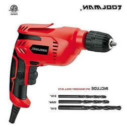 """Toolman Electric Power Drill Driver 3/8"""" Variable Speed For"""