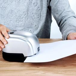 Electric Stapler & 2-Hole Punch-2 In <font><b>1</b></font> <