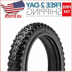 "Fat 20""x4"" Heavy Duty Rubber Extended Life Tire + Tube Fits"