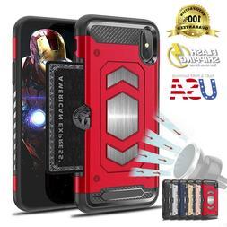 Fits iPhone Heavy Duty Body Armor Protector Slim Card Holder