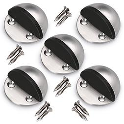 Sumnacon Floor Door Stopper, 5Pcs Stainless Steel Door Stopp