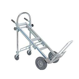 Foldable 3 in 1 Aluminum Hand Truck Dolly Cart Stairs Wheels