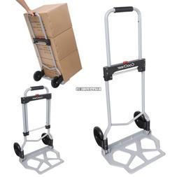 Foldable Hand Truck Cart Dolly & Utility Cart Heavy Duty 220