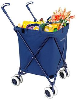 Folding Shopping Cart - Versacart Transit Utility Cart - Tra
