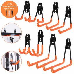 garage hooks steel utility double heavy duty