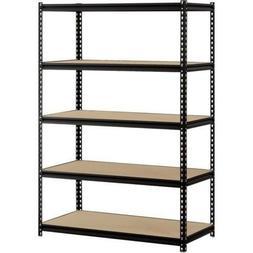 Garage Shelf Heavy Duty Steel Metal Storage 5 Level Adjustab