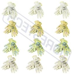 Garden Gardener Gardening Gloves Yard Nitrile Anti-Slip Knit