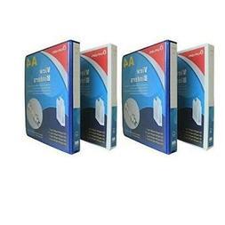 GlobalDeli Heavy Duty Office supplies binders, Size 1 Inch,