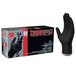 gloveworks black nitrile heavy duty latex free