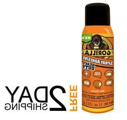 Gorilla Heavy Duty Spray Adhesive, 11 ounce, Multipurpose, C