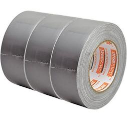 Tape King Professional Grade Duct Tape, 3-Pack, Silver Color