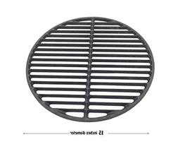 Grill & Smoker Cast Iron Grids Round Cooking Grate Fit for A