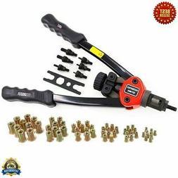 HAND RIVETER Heavy Duty Repair Gun Nut Thread Rivet Tool Kit