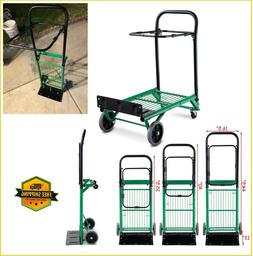 Hand Truck Dolly Convertible Foldable Platform Cart Heavy Du