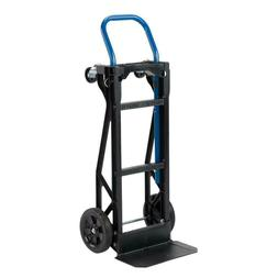 Hand Truck Moving Dolly 2-in-1 Convertible 4-Wheel Platform