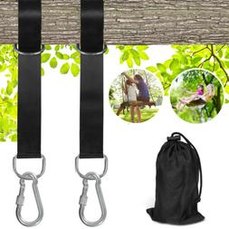 Hanging Straps Hammock Tree Swing 5ft With 2 Heavy Duty Cara