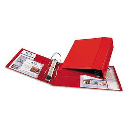 Heavy-Duty Binder with One Touch EZD Rings, 4'' Capacity, Re