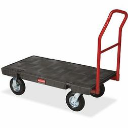 Rubbermaid Commercial Heavy-Duty Platform Truck Cart, 1000 P