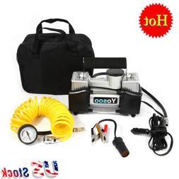 Heavy Duty 12V 150 PSI Air Compressor Pump Electric Auto Car