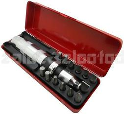 "Heavy Duty 14Pcs 1/2"" Drive Impact Driver Set Screw Remover"