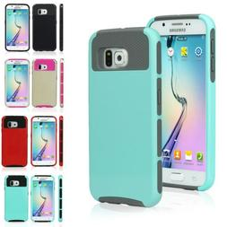 Heavy Duty 2 in 1 Case【Armor Shockproof Hybrid】For Samsu
