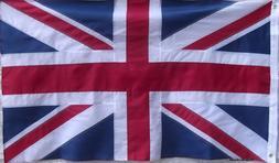 HEAVY DUTY 2 SIDED BRITISH UNION JACK FLAG - DOUBLE SIDED -