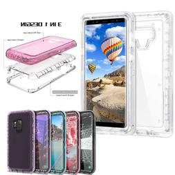 Heavy Duty 3-Layer Defender Case For Samsung Galaxy Note 8 9