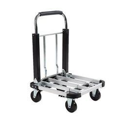 Heavy Duty 330 lb Aluminum Foldable Platform Cart Dolly Lugg