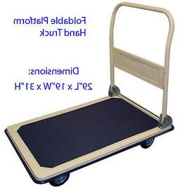 Heavy Duty 330LBS Foldable Platform Hand Truck Cart Dolly