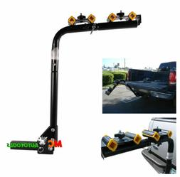 Heavy Duty 4 Bicycle Bike Rack Car Swing Down SUV Truck Van
