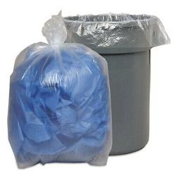 HEAVY-DUTY 40-46 Gallon 2 Mil Trash Bags Clear. 30 ct Large