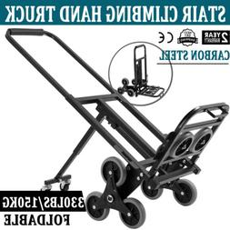Heavy Duty 420lb Stair Climber Cart Fold
