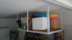 HEAVY DUTY 4ftX8ft  Adjustable Ceiling Rack Overhead Garage