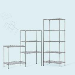 "Heavy Duty 5 Layer 60""x22""x12"" Wire Shelving Rack Adjustable"