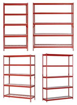 Heavy Duty 5 Tier Steel Muscle Rack Storage Shelving Unit Ad