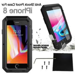 Heavy Duty Armor Shockproof Tough Metal Anti Case For iPhone