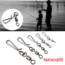 Heavy Duty Ball  Fishing Snap Connector with Pin Bearing Bar